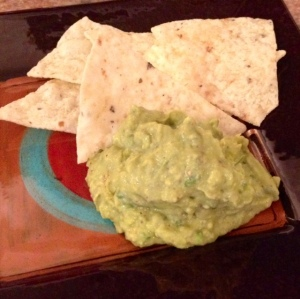 I usually try to by the thin tortillas so they are a little less calories! Look into that! I already had these leftover from a party so I just used these.