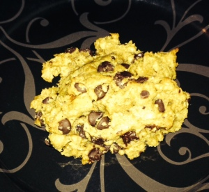 Oatmeal + Chocolate Chips + Peanut Butter =YUM!!